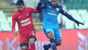Bursaspor'da kupada liderlik sevinci