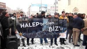 Halep'te öldürülen siviller için Konya'da gıyabi cenaze namazı kılındı