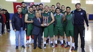 Üniversitelerarası 2. Lig basketbol turnuvası sona erdi