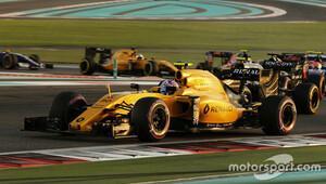 Renault, 2016 sezonu sona erdiği için mutlu