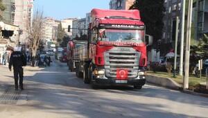Bilecikte teröre tepki konvoyu