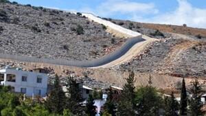 Sınırdaki duvarın 77 kilometresi tamamlandı