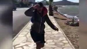 Hülya Avşar, rüzgara karşı..