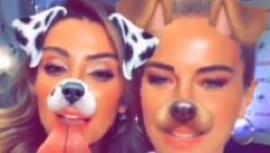 İşte ünlülerin Snapchat halleri