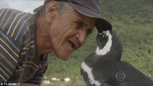 En yakın dostu bir penguen