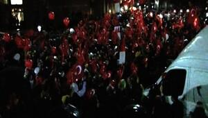 İstanbul Adliyesi önünde 17.25 eylemi