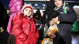 Halepten tahliyeler tamamlandı