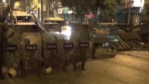 GALATA KÖPRÜSÜNDE GEZİ PARKI GÖSTERİCİLERİNE POLİS MÜDAHALESİ