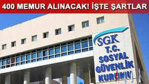 SGK denetmen yardımcısı memur alımı başvuru şartları neler