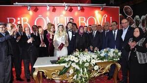 Başkan Sözlünün kardeşi evlendi