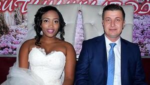 Zonguldaklı Hakan, Ruandalı Emma ile evlendi