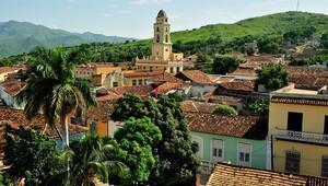 En renkli Küba kenti: Trinidad