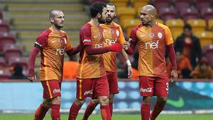 Süper Ligde sadece Galatasaray