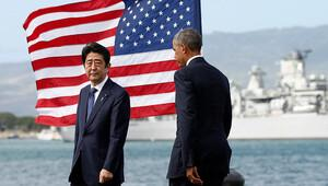 Obama ve Abe Pearl Harborda
