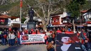 CHPden alternatif Atatürk Koşusu