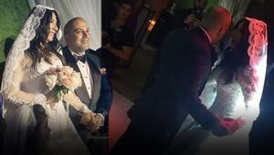 Işın Karaca ile Tuğrul Odabaş evlendi