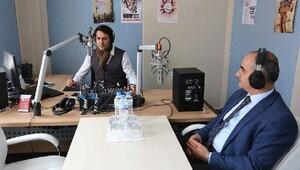 Başkan Aydın, radyolara konuk oldu