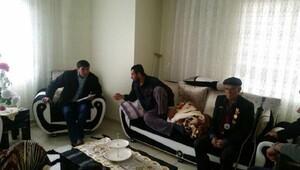 El-Bab gazisine evde ziyaret