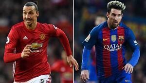 Ibrahimovicin gözdesi Messi