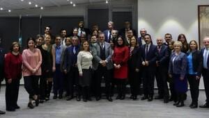 Baroda yönetim ve temsilciler buluştu