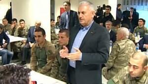 Başbakan Yıldırım: Suriye ve Türkiyedeki teröristlerin hepsini yok edeceğiz (4)