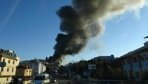 Mobilya fabrikasından yangın