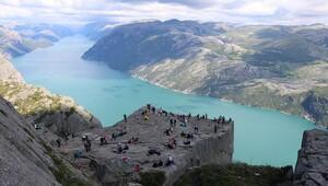En zorlu tırmanış: Preikestolen / Norveç