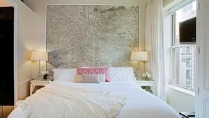 Haritalar ev dekorasyonunda