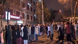 Edirnekapı Kız Öğrenci Yurdunda korkutan yangın