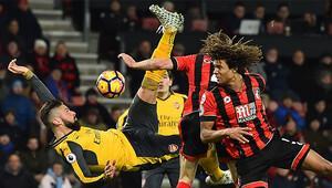 Arsenali Giroud kurtardı