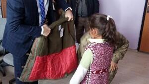 Ovakışla'da 106 öğrenci giydirildi