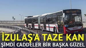 İZULAŞa 110 yeni otobüs