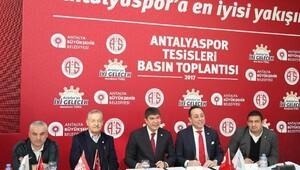 Antalyaspor yeni tesislerine kavuştu