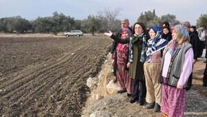 CHPli Biçerden, arazileri kamulaştırılmak istenen çiftçilere destek