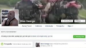 Reina hesabına mesajları yazan Woo George gözaltında