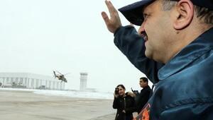 Bakan Işık, T-129 ATAK Helikopteri Teslimat Törenine katıldı