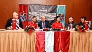 Trabzonsporda Mas ve Pereira imzayı attı