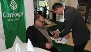 Çankaya Belediyesi 23 bin 627 kişiye sağlık hizmeti verdi