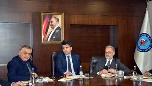 Oda başkanları İran pazarına yöneldi