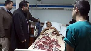 Kahraman polis Fethi Sekinin babası acı haberi hasta yatağında aldı