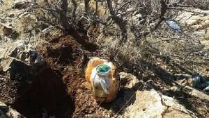 Bitlis'te el yapımı patlayıcı bulundu