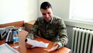 Köy çocuklarının mektupları askerleri sevindirdi