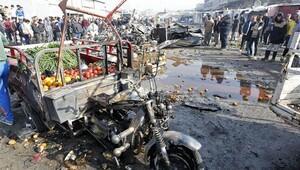 Bağdatta peş peşe bombalı saldırılar