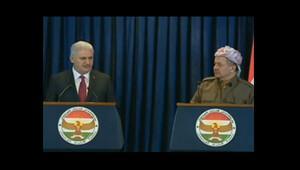 Başbakan Binali Yıldırım ve Mesud Barzaniden ortak basın toplantısı