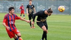 Osmanlıspor hazırlık maçında Mersin İdmanyurduna yenildi