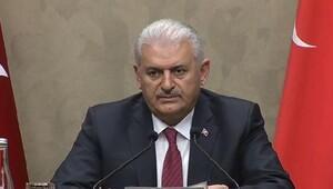 Başbakan Yıldırım Iraktaki temaslarının ardından Esenboğada konuştu