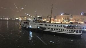 Son Dakika: İstanbulda Vapur seferleri iptal, Boğaz gemi geçişlerine kapatıldı