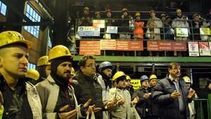 Zonguldakta madende ölen 8 işçi dualarla anıldı