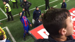 Pique çıldırdı Maç sonu başkana bağırdı