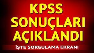 KPSS tercih sonuçları ÖSYM üzerinden erişime açıldı